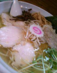 桜台らぁ麺 美志満 魚介塩ワンタン麺